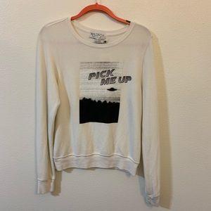 NWT wildfox pick me up sweatshirt